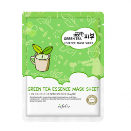 green tea mask esfolio